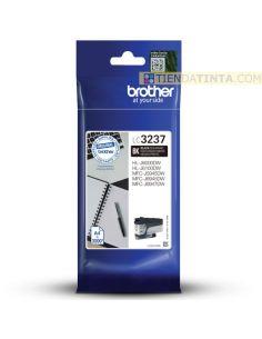 Tinta Brother LC3237BK Negro (3000Pág)