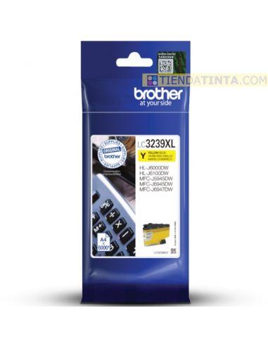 Tinta Brother LC3239XL Y Amarillo (5000 Pág)