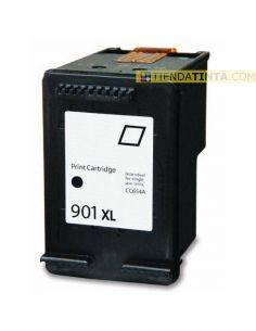 Tinta compatible HP 901XL Negro (700 pág)(15ml)