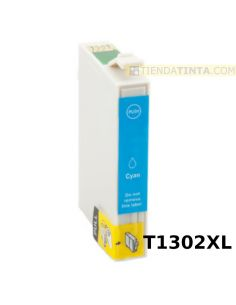 Tinta compatible Epson T1302XL CIAN (14ml)