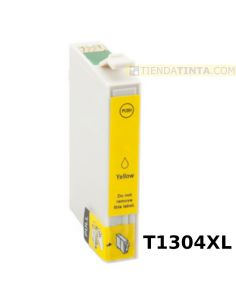 Tinta compatible Epson T1304XL AMARILLO (14ml)
