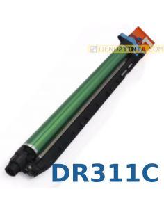 Tambor compatible Konica Minolta DR311C CIAN C220/C280/C360 (55000 Pag) No original