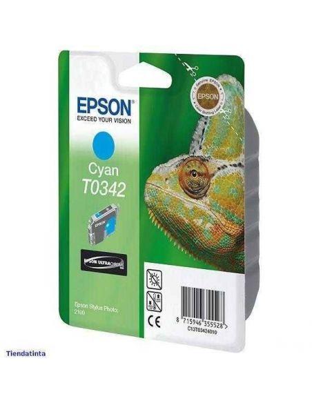 Tinta Epson T0342 Cian (17ml)