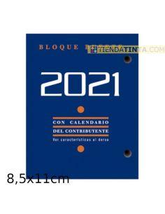 Bloque Calendario 2021 de 8,5x11cm