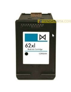 Tinta compatible HP 62XL Negro C2P05AE (600 Pag)