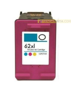 Tinta compatible HP 62XL COLOR C2P07AE (415 Pag)