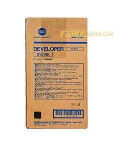 Revelador Konica Minolta DV610K Negro (200000 Pag)