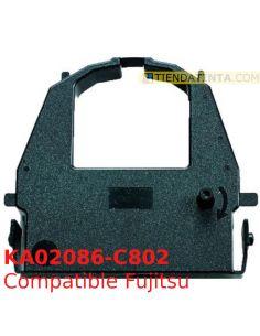 Cinta compatible Fujitsu 137.020.453 Negro KA02086-C802 CA02374-C104