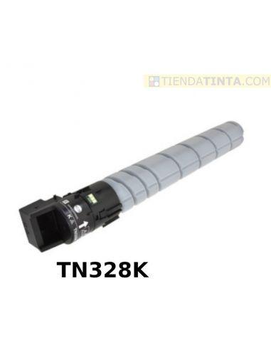 Tóner compatible Konica Minolta TN328K Negro AAV8150 (28000 Pag) para C250i y más