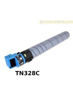 Tóner compatible Konica Minolta TN328C CIAN AAV8450 (28000 Pag) para C250i y más