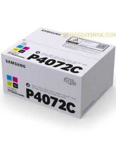 Pack tóner Samsung P4072C Multicolor (1500 Pag) para CLP320 y mas