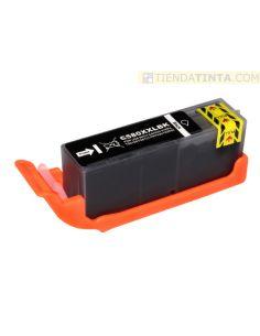 Tinta compatible Canon 580PGBK XL Negro (600 Pag)