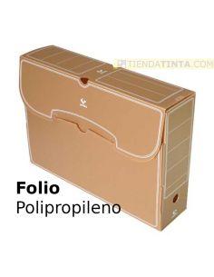 Archivador definitivo Folio polipropileno (365x263x95mm)