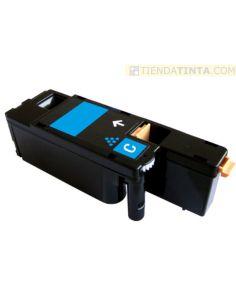 Tóner compatible Epson 0613 CIAN C13S050613 (1400 Pag) para CX17 y mas