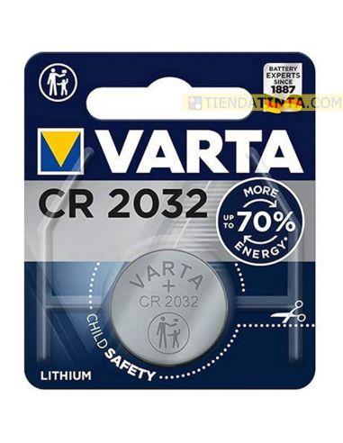 Pila boton CR2032 Lithium 3V (1 unidad)