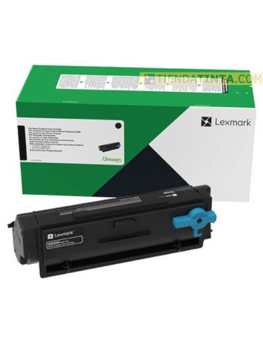 Tóner Lexmark 55B2000 Negro (3000 Pag) para MS331 y mas