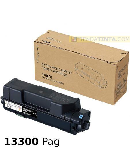 Tóner compatible Epson 10078 NEGRO Extra High Capacity (13300 pag) para AL-M320