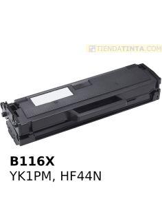Tóner compatible Dell B116X...