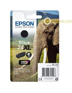 Tinta Epson 24XL Negro C13T243140 (500 pag)