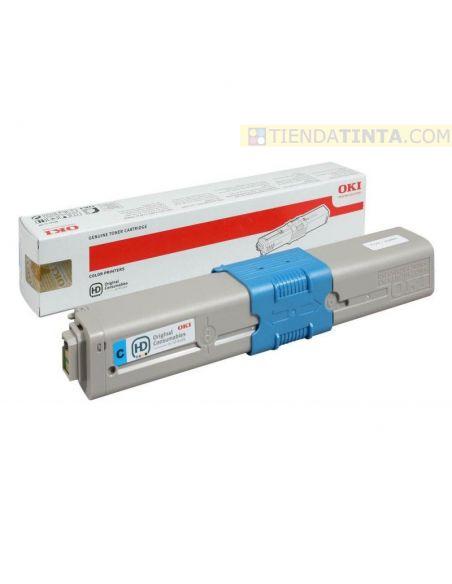Tóner Oki C310C Cian 44469706 (2000 Pag) para MC351 y mas