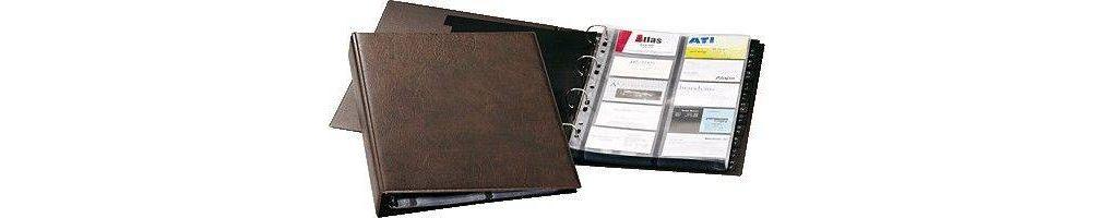 ficheros, tarjeteros y listines telefónicos