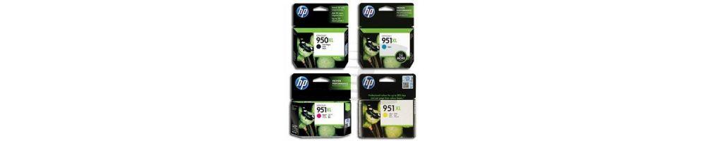 Cartuchos de tinta 950XL / 951 XL para HP originales y compatibles