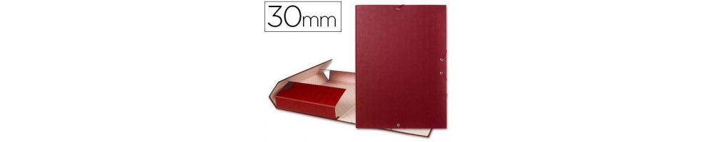 carpeta lomo 30mm