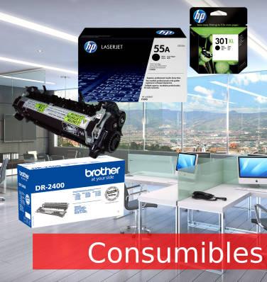 Consumibles para tu impresora fotocopiadora o plotter