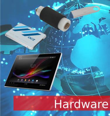 En hardware puedes ver todos los productos que tenemos relacionados como impresoras discos duros etc