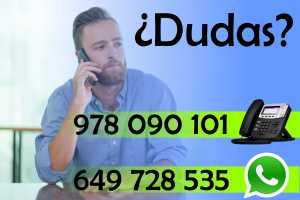 Puedes llamarnos al 978090101