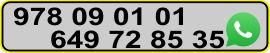Puedes contactar con nosotros en estos teléfonos